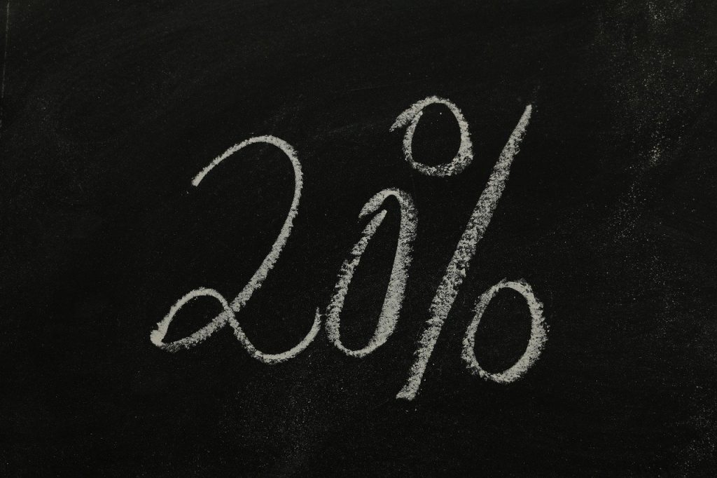 twenty, percent, statistics